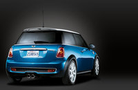 2009 MINI Cooper, Back Right Quarter View, exterior, manufacturer
