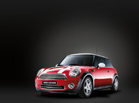 2009 MINI Cooper Base, Front Left Quarter View, exterior, manufacturer