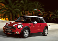 2009 MINI Cooper Base, Front Left Quarter View, manufacturer, exterior