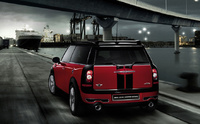2009 MINI Cooper Clubman John Cooper Works, Back Left Quarter View, manufacturer, exterior