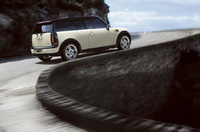 2009 MINI Cooper Clubman Base, Back Right Quarter View, manufacturer, exterior