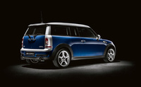 2009 MINI Cooper Clubman S, Back Right Quarter View, manufacturer, exterior