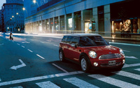 2009 MINI Cooper Clubman Base, Front Right Quarter View, manufacturer, exterior