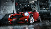 2009 MINI Cooper John Cooper Works, Front Left Quarter View, exterior, manufacturer