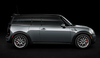 2009 MINI Cooper Clubman Base, Right Side View, exterior, manufacturer