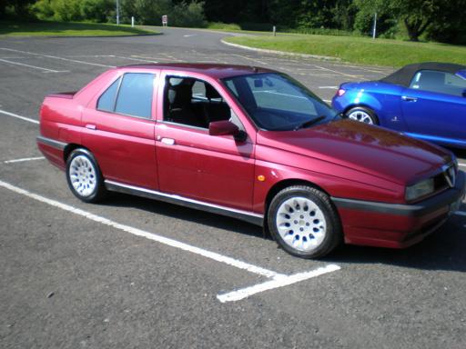 Picture of 1997 Alfa Romeo 155, exterior, gallery_worthy