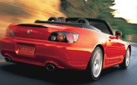 2009 Honda S2000, Back Right Quarter View, exterior, manufacturer