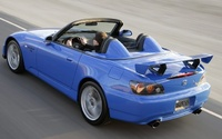 2009 Honda S2000, Back Left Quarter View, manufacturer, exterior