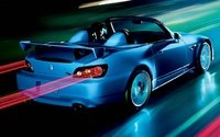 2009 Honda S2000, Back Right Quarter View, manufacturer, exterior