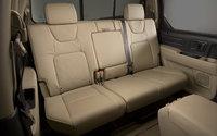 2009 Honda Ridgeline, Interior Back Seat View, interior, manufacturer