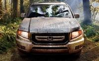 2009 Honda Ridgeline, Front View, exterior, manufacturer