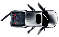 2009 Honda Ridgeline, Overhead View, exterior, manufacturer
