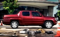 2009 Honda Ridgeline, Right Side View, exterior, manufacturer