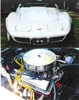 Picture of 1977 Chevrolet Corvette Coupe, exterior, engine