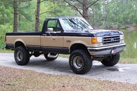 1989 Ford F-150, My 1989 F-150 XLT Lariet 6 inch pro comp lift 12.5X35X15 Dunlop mud rovers, exterior