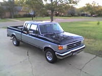 1990 Ford F-150 XLT Lariat 4WD Extended Cab SB, thats my baby!, exterior