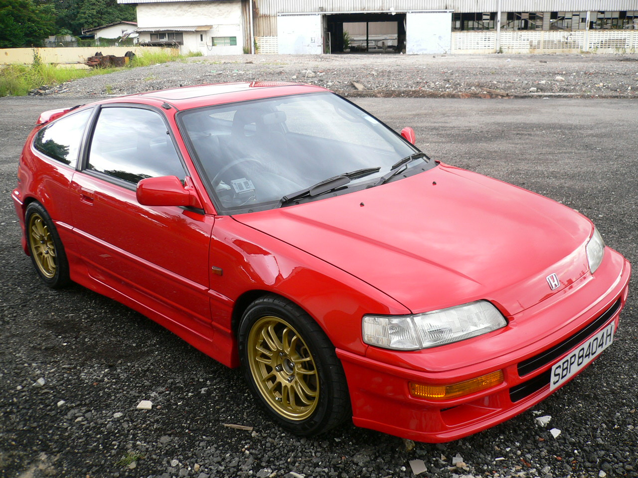 1991 Honda Civic CRX CRX Si picture