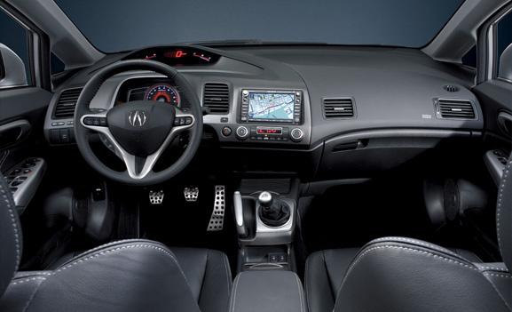 2008 Acura Csx - Acura Csx Interior Front View Interior Manufacturer - 2008 Acura Csx