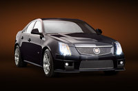 2009 Cadillac CTS-V, Front Right Quarter View, exterior, manufacturer