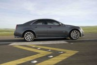 2009 Cadillac CTS-V, Right Side View, exterior, manufacturer