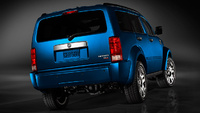 2009 Dodge Nitro, Back Right Quarter View, manufacturer, exterior
