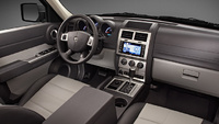 2009 Dodge Nitro, Interior Front Dash View, manufacturer, exterior