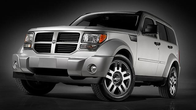 2009 Dodge Nitro, Front Left Quarter View, exterior, manufacturer