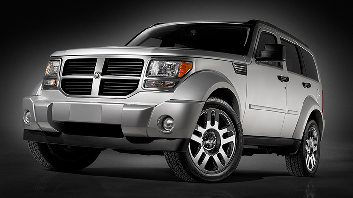 2009 Dodge Nitro, Front Left Quarter View, manufacturer, exterior