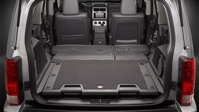 2009 Dodge Nitro, Interior Cargo View, interior, manufacturer