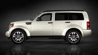 2009 Dodge Nitro, Left Side View, exterior, manufacturer