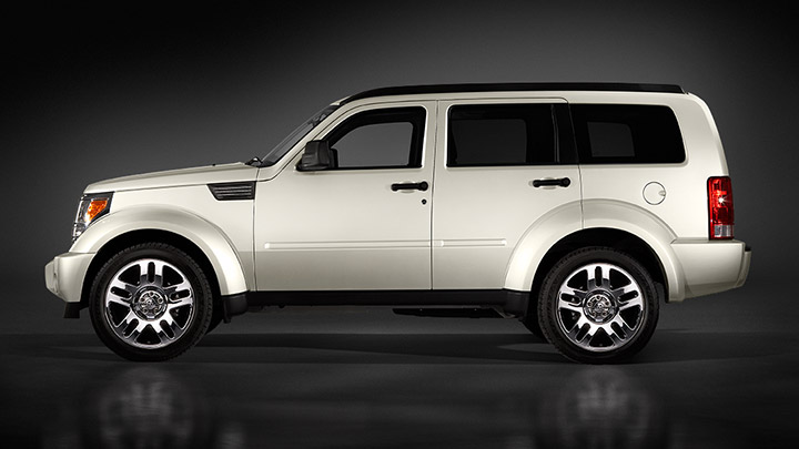 2009 Dodge Nitro, Left Side View, manufacturer, exterior