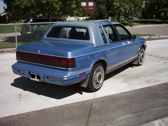 Picture of 1991 Chrysler Le Baron 4 Dr STD Sedan, exterior, gallery_worthy