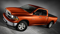 2009 Dodge Ram Pickup 1500, Front Left Quarter View, manufacturer, exterior