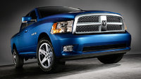 2009 Dodge Ram 1500, Front Right Quarter View, exterior, manufacturer, gallery_worthy