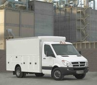 2009 Dodge Sprinter, Front Right Quarter View, exterior, manufacturer