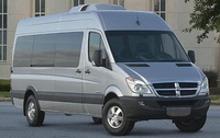 2008 Dodge Sprinter Cargo, Front Right Quarter View, exterior, manufacturer