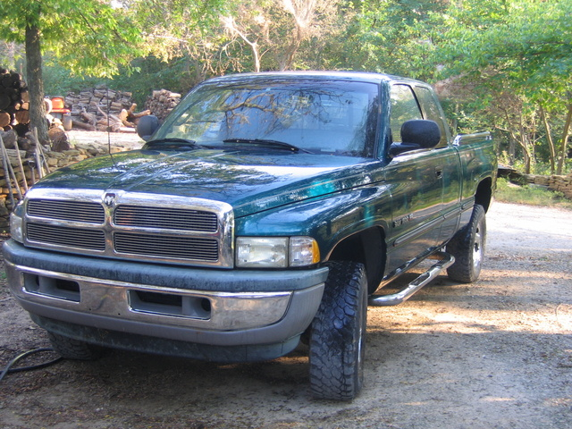 Dodge Ram Pickup Dr Laramie Slt Wd Extended Cab Sb Pic X on 1997 Dodge Van Value