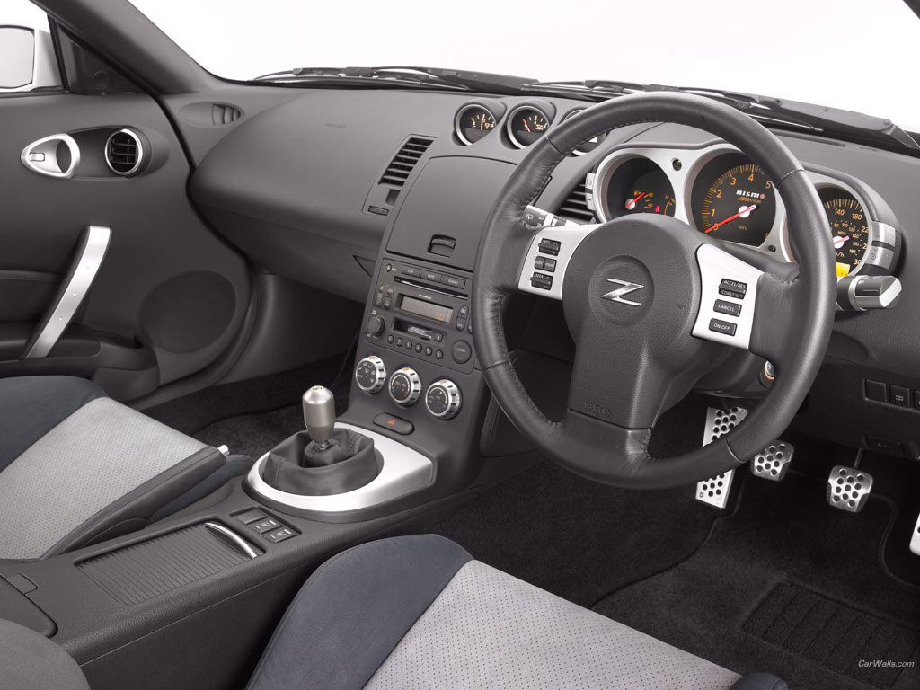 2008 nissan 350z interior pictures cargurus for Interieur 350z