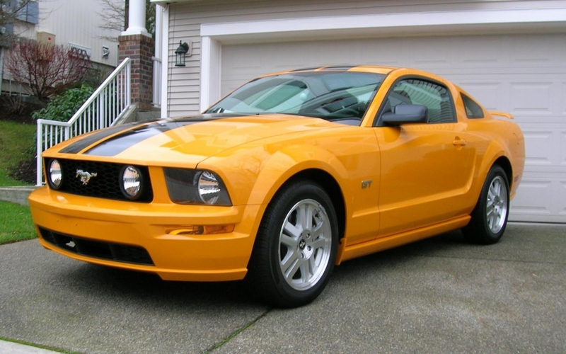 picture of 2007 ford mustang gt deluxe exterior. Black Bedroom Furniture Sets. Home Design Ideas