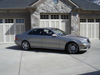 2003 Mercedes-Benz S-Class 4 Dr S55 AMG Sedan, 2003 Mercedes-Benz S55 AMG 4 Dr Supercharged Sedan picture, exterior
