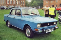 1985 Moskvitch 412 Overview