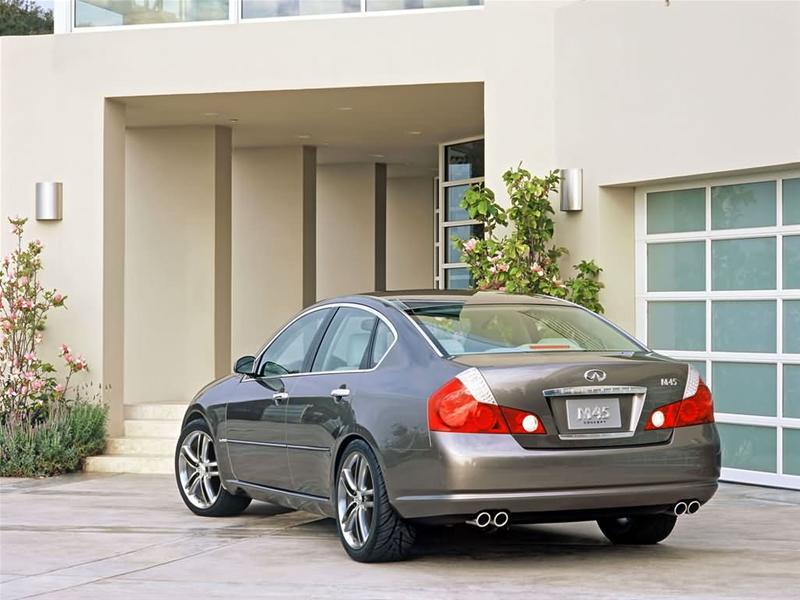 2008 Infiniti M45 AWD picture, exterior