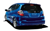 2009 Honda Fit, Back Left Quarter View, manufacturer, exterior
