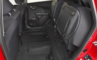 2009 Honda Fit, Interior Backseat View, interior, manufacturer