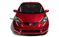 2009 Honda Fit, Front View, exterior, manufacturer