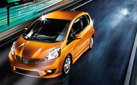 2009 Honda Fit, Front Left Quarter View, manufacturer, exterior
