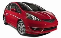 2009 Honda Fit, Front Right Quarter View, manufacturer, exterior