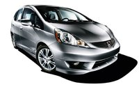 2009 Honda Fit, Front Right Quarter View, exterior, manufacturer