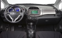 2009 Honda Fit, Interior Dash View, interior, manufacturer