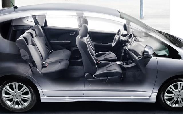 2009 Honda Fit, Interior Side View, exterior, interior, manufacturer
